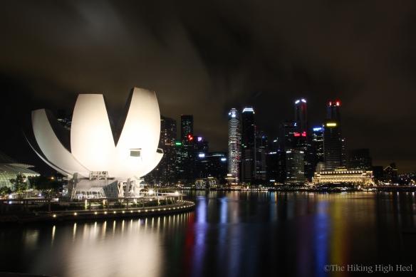 Singapore @ night, Art Science Museum